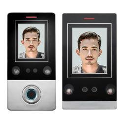Gesichtsfingerabdruck-Zugriffssteuerung-Leser der anerkennungs-CF1 mit Bildschirm