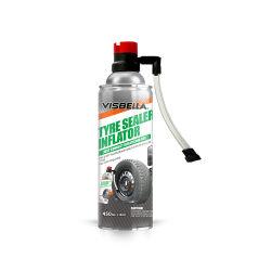 Sellador de neumáticos de pulverización de inflador de punción de emergencia de la reparación de neumáticos inflador automático de sellador y