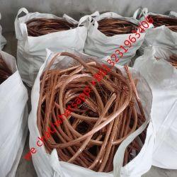 خردة الأسلاك النحاسية 99.95%-99.99% كبل نحاسي خردة النحاس الخردة معدن الخردة