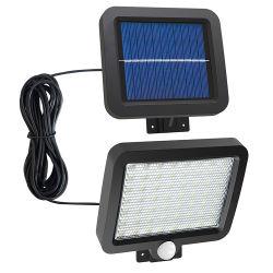 منتج جديد بلاستيك IP65، هوائي بقوة 5 واط، مقاوم للمياه، فيضان بمصابيح LED شمسية خفيف