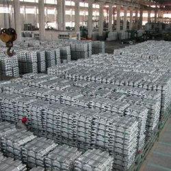 El mejor precio estándar de lingotes de aluminio de alta pureza