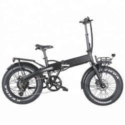 20 pulgadas mini barata neumático Fat plegable bicicleta eléctrica de 250W con la mayoría de precio asequible.