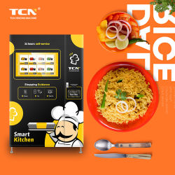 Tcn Ready وجبة سريعة آلة بيع الطعام آلة بيع مع تدفئة أوتوماتيكية