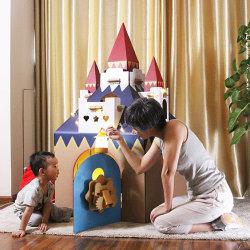 대형 실내 및 실외 키즈 플레이 스쿨 하우스 어린이 놀이 장난감