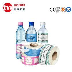 Pet/PVC 플라스틱 병에 넣은 물을%s 접착성 스티커 레이블