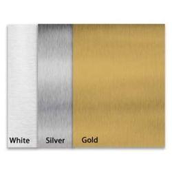 Una lámina de aluminio para la impresión por sublimación de UV de metal