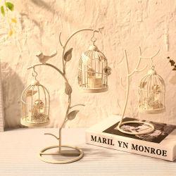 Чашечки оформление дерева филиал клети птиц чашечки домашних хозяйств свадьбы оформление утюг чашечки оформление Custom-Made