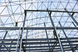 Edificio de estructura de acero Construcción metálica de acero utilizado en el exterior