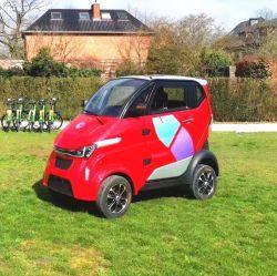 Quatro Rodas Carro Eléctrico Scooter de mobilidade de cabina com ar condicionado