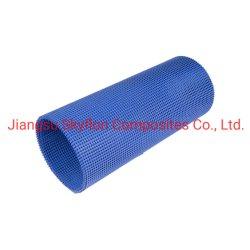 Tessuto in fibra di vetro rivestito in PTFE maglia aperta colore blu