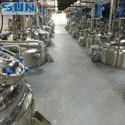 rührte Mantelchemikalie der heizungs-5000L Becken-Reaktor mit ASME Bescheinigung