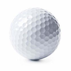 O logotipo personalizado Imprimir campo de jogo de Correspondência de cores nas Escrituras bolas de golfe prática esportiva duas ou três camadas bolas de golfe