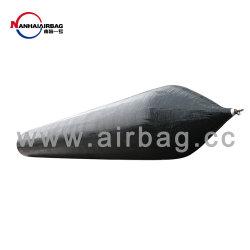 Caoutchouc certifiés du SCCC Marine airbags pour le lancement de bateau gonflable