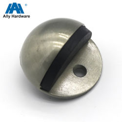 Puerta corrediza magnético de aleación de zinc de Hardware de montaje en pared Tope de puerta