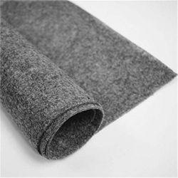 Isolamento de som lã médios sentida para polimento em mármore