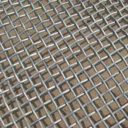 Yq serti carré de haute qualité de Wire Mesh tissé maille en acier galvanisé