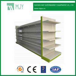 Retail Store Fixtures de supermarchés en acier métallique de conception et de l'étagère de gondoles de fabrication