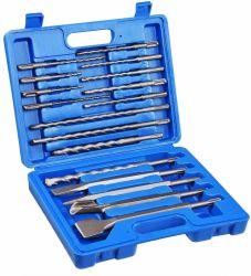 回転式ハンマー・ドリルビットのみの具体的な穴あけ工具の石工穴あけ工具の穴の工具セットと17PCS SDS