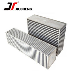 Placa de enfriado por aire y el Bar los núcleos del radiador de aluminio para enfriar el aceite Core y cambiador