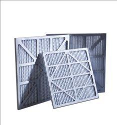 O pré-filtro primário de fibras sintéticas eficaz da estrutura de papel filtro de ar Fabricante da China