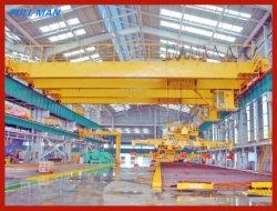 Doppelter Träger-anhebender Aufhängungs-elektromagnetischer Brückenkran für Fabrik-Maschine für Produktionszweig für Teildienst-Pflege