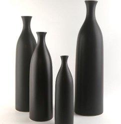Decorativos simples de cerâmica de porcelana vaso de flores