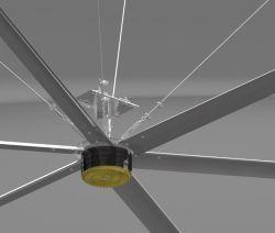 Ventoinha de suspensão da casa com 24 pés de diâmetro para arrefecimento a ar