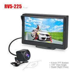 Nouvelle Voiture de 5 pouces moniteur avec HD 1080P 170degré Caméra de rétroviseur