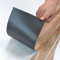 Prix le moins cher lavés Oak auto-adhésif PVC béton de plancher