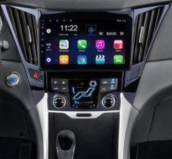 """차 Radio Multimedia Video Player 10.1 """" Android Hyundai Creta IX25 2 DIN를 위한 9.0 2GB 32GB DSP GPS Navigation DVD 없음"""