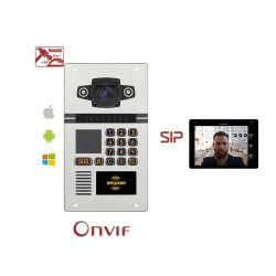 IP66 для использования вне помещений используют протокол SIP по стандарту ONVIF Multi квартира аудио системы внутренней связи