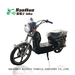 La palanca de freno manillar 17pulgadas 72V 500w motocicleta eléctrica para adultos