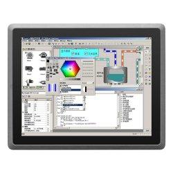모든 알루미늄 DC9V-24V 팬리스 10포인트 정전식 터치 스크린 패널 PC 산업용 Android PC