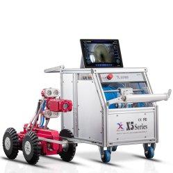 高い定義DN300-1000のための電気エレベーターが付いているビデオ点検クローラー
