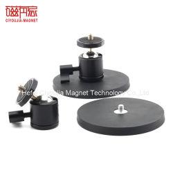 Strong постоянного магнита камеры обрезиненные магнитов с ручкой для камеры светодиодный светильник рассеянного света