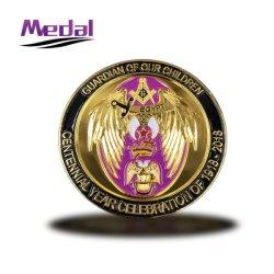 工場カスタム記念品私達イベントのための軍の挑戦旗の硬貨