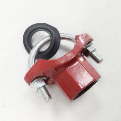 u-볼트 결박 티 기계적인 합동 티는 관 이음쇠를 스레드핬다
