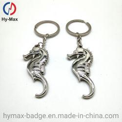 Cavallo di mare promozionale all'ingrosso della signora Cute del metallo di disegno Keychain