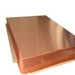 Baixo teor de oxigénio bom desempenho de pureza elevada da lâmina de cobre Sheet/Placa