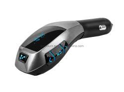 Viva-voz Bluetooth Transmissor FM Car Kit leitor MP3 adaptador de rádio funcionam com TF Card disco U