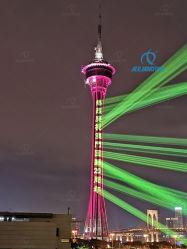 RGB de 30W Publicidad Sky haz láser El texto del logotipo de la luz del proyector