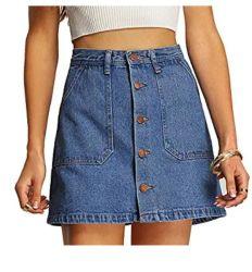 卸し売りカスタム方法女性の女性デニムのスカート