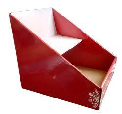 Custom Desktop Display Box Candy PDQ مموّج عيد الميلاد هدية مربع مموّج
