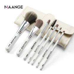 7 PCS/Set Professional Eye Fundação Sombra lábio sobrancelhas escovas de maquiagem com saco da escova
