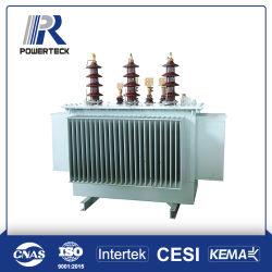 25-2500 kVA driefase-olie-ondergedompelde stroomverdelingstransformator