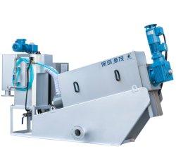우수한 Continuoue Work Machine 육류 가공 기름진 슬러지 듀테링 나사 의료용 웨이스트게이트 치료를 위한 필터 누름