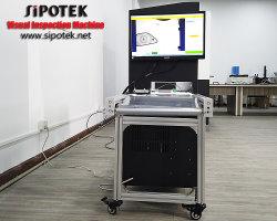 실크 인쇄 검사를 위한 일관 작업 비전 검사 기계