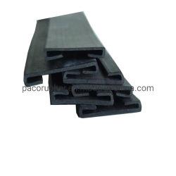 Il sigillamento di gomma solido EPDM del PVC dell'OEM della gomma piuma a forma di su ordinazione del silicone mette a nudo il profilo di gomma dell'espulsione per il portello automatico della finestra