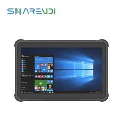 Лучшие продажи прочный планшетный ПК с диагональю 10,1 дюйма Quad Core с 1D/2D сканер штрих-кодов