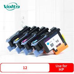 4 Farben kompatible Drucker-Nachfüllungs-Tinten-Kassette HP-12 für HP-Geschäfts-Tintenstrahl 3000 3000dtn 3000n